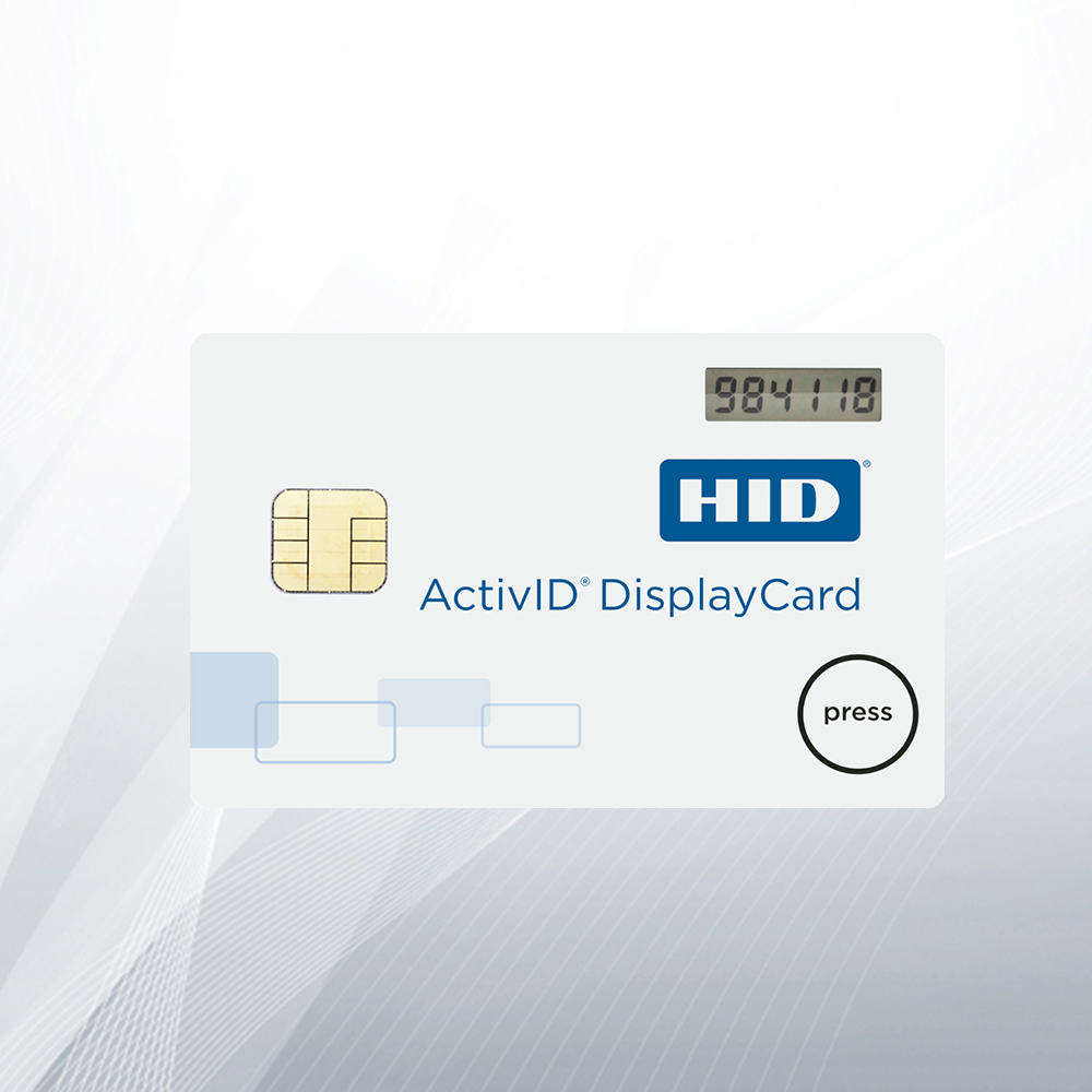 ActivID DisplayCard Tokens